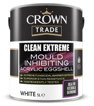 Clean Extreme Mould Inhibiting Acrylic Eggshell